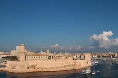 Fort Saint-Jean in Marseilles Stock Image