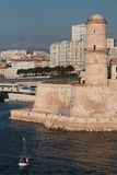 Fort Saint-Jean in Marseilles Stock Photo
