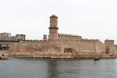 Fort Saint-Jean, Mediterranean, Marseille, France Stock Images