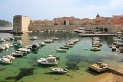 Fort of saint John and old port. Dubrovnik. Croatia Stock Image