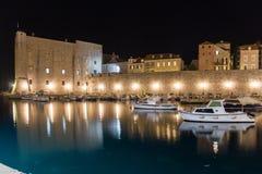Fort of saint John and old port. Dubrovnik. Croatia Stock Images