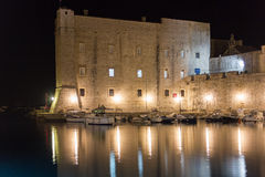Fort of saint John and old port. Dubrovnik. Croatia Stock Image