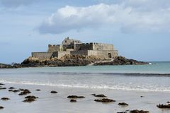 Fort in Saint Malo Royalty Free Stock Images
