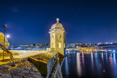 Fort Saint Michael in Senglea, Malta. Fort Saint Michael gardjola (watch tower) in Senglea, Malta royalty free stock image