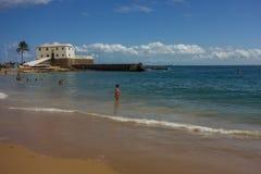 Fort Salvador Bahia, Brazil,travel stock photo