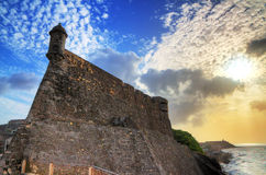 Fort San Cristobal Royalty Free Stock Photography