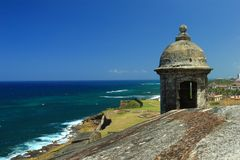 Fort San Cristobal Garita Stock Photography