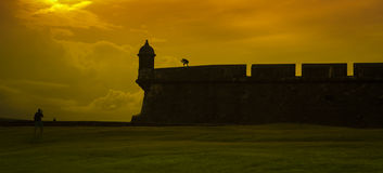 Fort San Felipe del Moro Photos stock