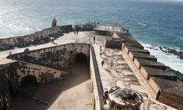 Fort San Felipe Del Morro Stock Photos