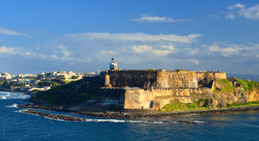 Fort San Felipe del Morro Royalty Free Stock Photo