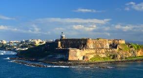 Fort San Felipe del Morro. At San Juan, Puerto Rico Royalty Free Stock Photo