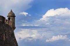 Fort San Felipe Del Morro lizenzfreies stockfoto