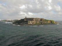 Fort San Felipe Del Morro w San Juan, Puerto Rico Fotografia Royalty Free