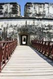 Fort of San Fernando de Bocachica. Bridge at San Fernando de Bocachica Fort Stock Images
