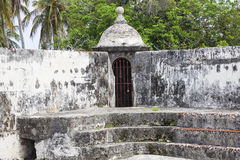 Fort of San Fernando de Bocachica Stock Photography