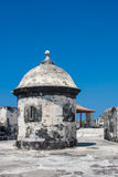 Fort of San Fernando de Bocachica. San Fernando de Bocachica Fort located at Tierrabomba, Cartagena de Indias - Colombia Stock Photo