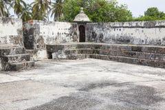 Fort of San Fernando de Bocachica. San Fernando de Bocachica Fort located at Tierrabomba, Cartagena de Indias - Colombia Stock Photography