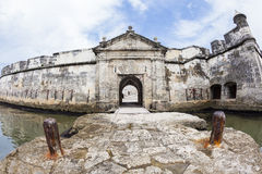 Fort of San Fernando de Bocachica. San Fernando de Bocachica Fort located at Tierrabomba, Cartagena de Indias - Colombia Royalty Free Stock Photos