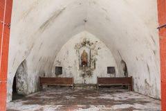 Fort of San Fernando de Bocachica. Oratory at San Fernando de Bocachica Fort Stock Image