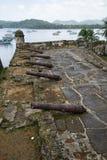 Fort San Fernando Panama Stockbild