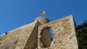 The Fort Of San Joan Royalty Free Stock Images