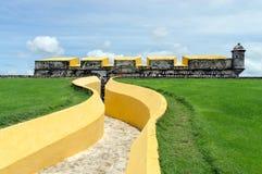 Fort San Jose - Campeche, Mexico arkivfoto