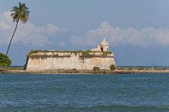Fort San Juan de la Cruz, Puerto Rico Royalty Free Stock Photography