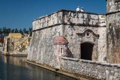 Fort San Juan de Ulua. VERACRUZ / MEXICO - JANUARY 2014: Fort San Juan de Ulua in Veracruz city, Mexico Royalty Free Stock Image