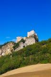 The Fort of San Leo, Rimini royalty free stock image