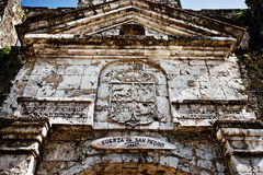 Fort San Pedro à Philippines Photo stock