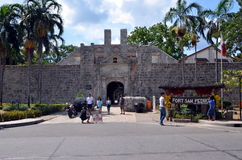Fort San Pedro in Cebu Royalty Free Stock Photos