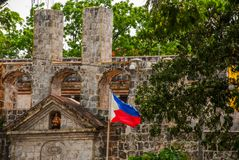 Fort San Pedro in Cebu, Philippines. Old Fort San Pedro in Cebu, Philippines Stock Photo