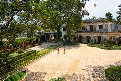 Fort San Pedro dans la ville de Cebu, Philippines Photos libres de droits
