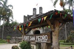 Fort San Pedro - de Stad van Cebu Royalty-vrije Stock Foto