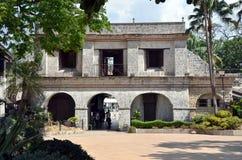 Fort San Pedro i Cebu Arkivfoto