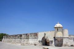 Fort of San Sebastian del Pastelillo. Entrance San Sebastian del Pastelillo Fort Stock Photos
