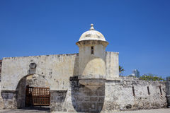 Fort of San Sebastian del Pastelillo. Entrance San Sebastian del Pastelillo Fort Stock Image