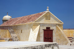 Fort of San Sebastian del Pastelillo. San Sebastian del Pastelillo Fort located in Manga, Cartagena de Indias Stock Photos