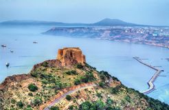 Fort Santa Cruz i Oran, Algeriet royaltyfri foto
