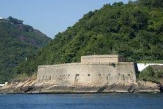 Fort Santa Cruz, Rio de Janeiro, Brazil Royalty Free Stock Images