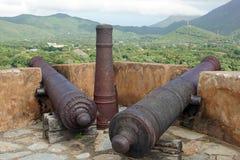 Fort Santa Rosa, La Asuncion, Isla Margarita, Venezuela Stockfotografie