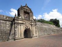 Fort Santiago Manila Lizenzfreies Stockbild