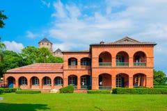 Fort Santo Domingo met duidelijke hemel Stock Fotografie