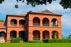 Fort Santo Domingo met duidelijke hemel Royalty-vrije Stock Fotografie