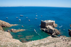 Fort of Sao Joao Baptista - Berlenga Stock Photos