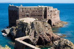 Fort of Sao Joao Baptista - Berlenga Stock Photo