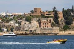 Fort Sao Joao robi Arade w Portugalia obraz stock