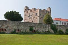 Fort of Sarospatak - diagonal view Stock Images