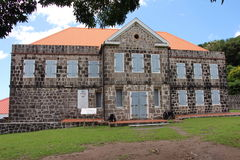 Fort Shirley Dominica Royalty Free Stock Images