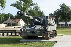 US Army Field Artillery Museum. Royalty Free Stock Images